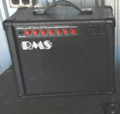 RMS AMPLIFIER