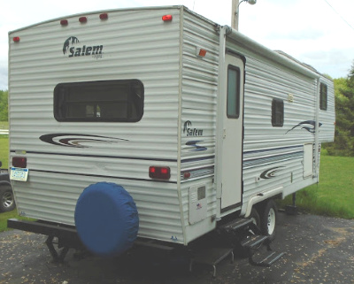 SALEM BY FOREST RIVER 5TH WHEEL TRAILER