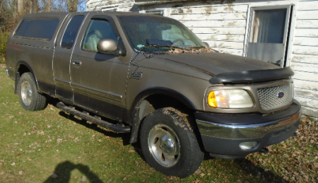 2001 FORED F150