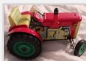 118 TIN TRACTOR