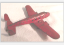 305 SMALL METAL AIRPLANE