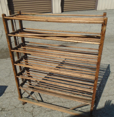PRIMITIVE DRYING RACK