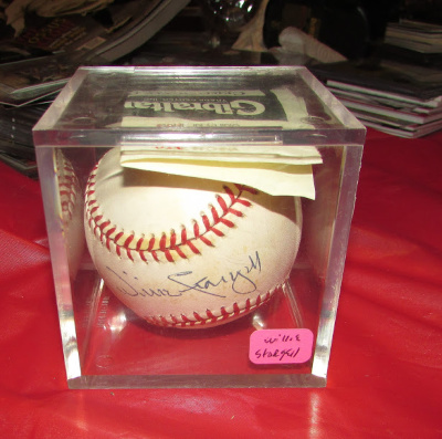 WILLIE STARGILL AUTOGRAPHED BALL