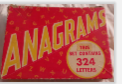 62 ANAGRAMS BOARD GAME