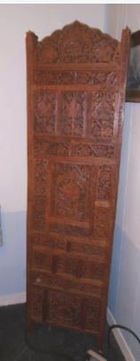 INDIA HAND CARVED SCREEN
