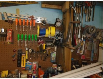 ASSORTED TOOLS & ITEMS