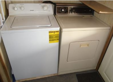 AUTO WASHER ELECTRIC DRYER