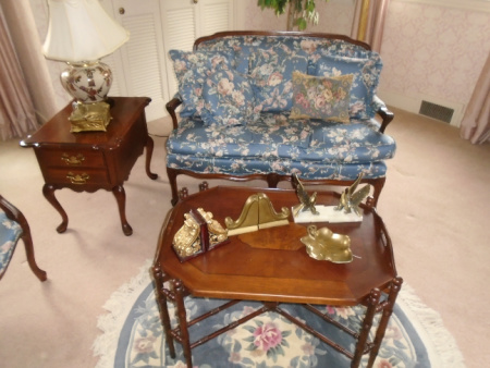 SETTEE TABLE ETC